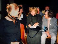 With the Readers, Minsk, 2002 Photo from the archive of S. Alexievich