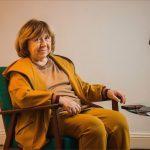 Svetlana Alexievich in Berlin:Foto:Hermann Bredehorst