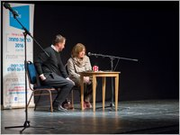 Open Lecture with Svetlana Alexievich. © Photo M. Kabakova