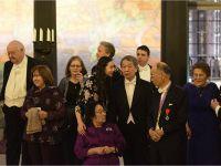 На Нобелевском банкете с лауреатами и их близкими -- Copyright © Nobel Media AB 2015 Photo: Alexander Mahmoud