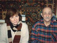 C поэтом Вениамином Блаженным. Фото из архива С. Алексиевич
