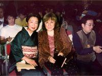 С японской писательницей Савати-сан, Токио, 2003 -- Фото из архива С. Алексиевич