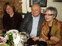 С Михаилом Жванецким и Ольгой Кучкиной -- Фото из архива С. Алексиевич