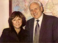 С председателем Конгресса русской интеллигенции Сергеем Филатовым, Москва, 2004 -- Фото из архива С. Алексиевич