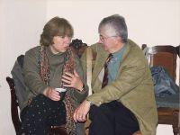 Светлана Алексиевич и французский славист Жорж Нива -- Фото из архива С. Алексиевич
