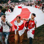Акция протеста в центре Минска 23.08.2020. Радио Свобода